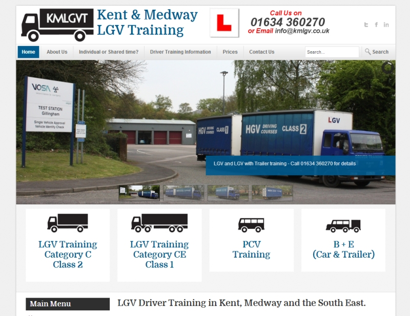 Kent and Medway LGV Training