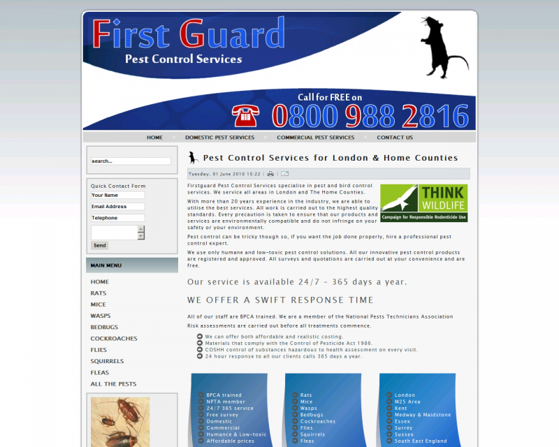 First Guard Pest