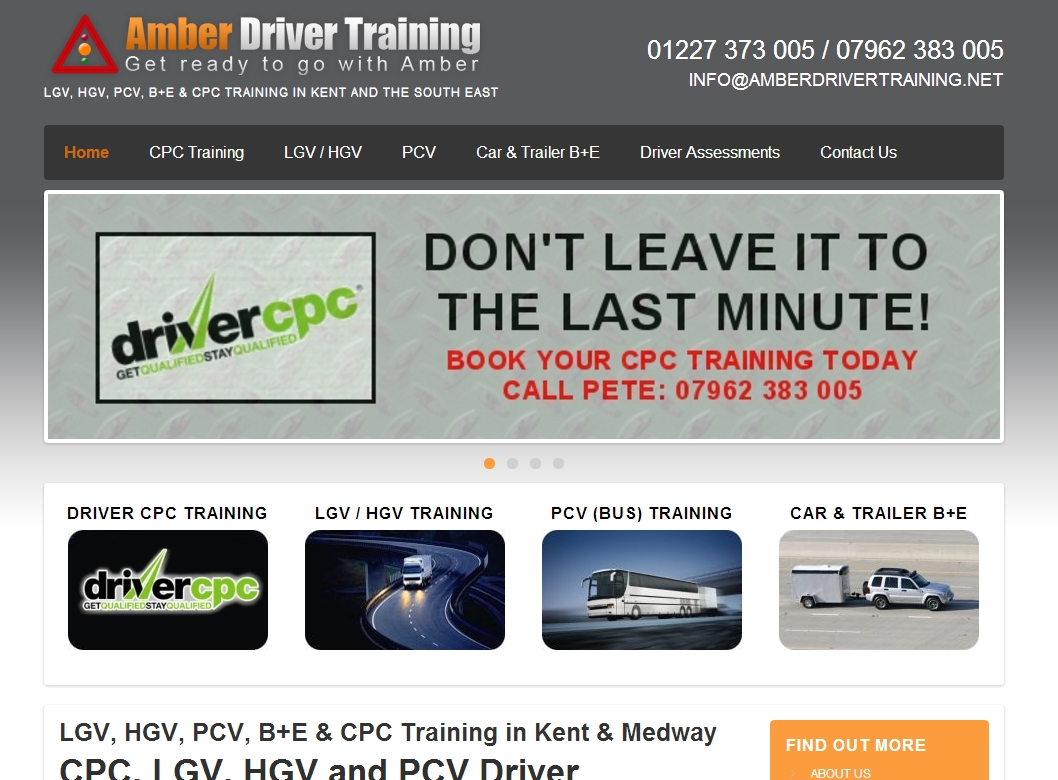 Amber Driver Training
